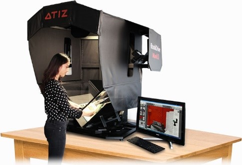 ATIZ BookDrive Mark 2 Cradle Scanner